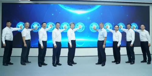 深圳市应急管理监测预警中心(联创中心)举行揭牌仪式