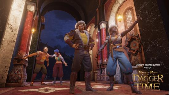 《波斯王子:时之刃》VR密室逃脱游戏面见中国玩家