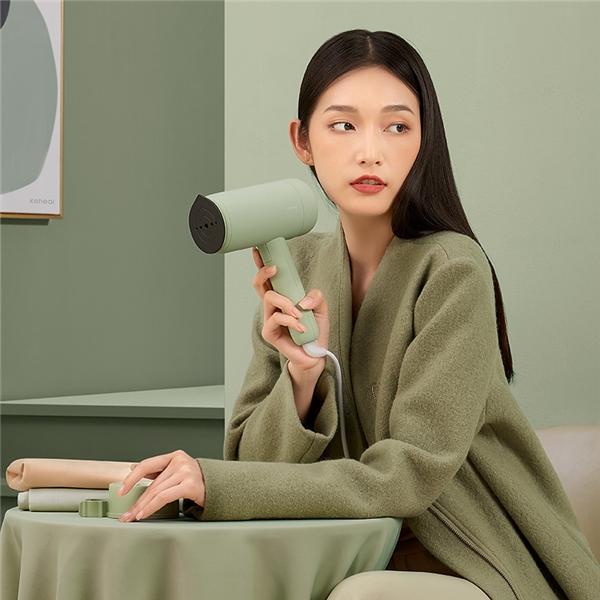Keheal上市二代手持挂烫机H2:生活平整美学2.0版