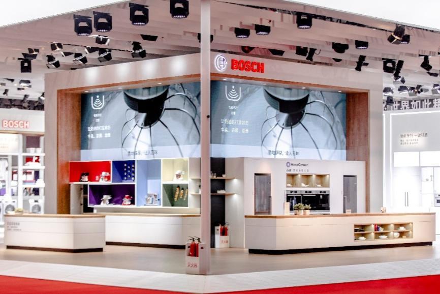 博世家电携多款匠心产品亮相进博会 新品升降式吸油烟机现场全球首秀